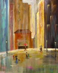 City Rain by Mary Buckley www.southernbreeze.net